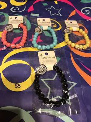 Charm bracelets with smiley faces for Sale in Detroit, MI