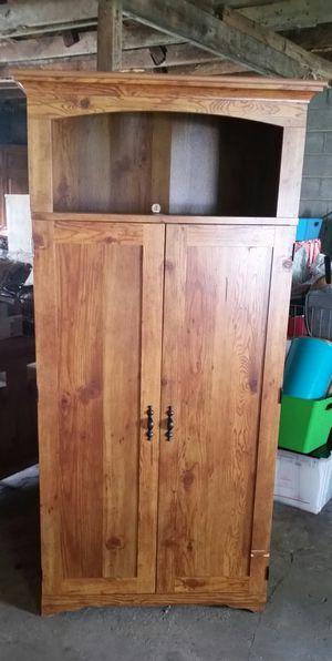 Wooden Secretary Desk Hide Away Cabinet for Sale in Lewisburg, TN