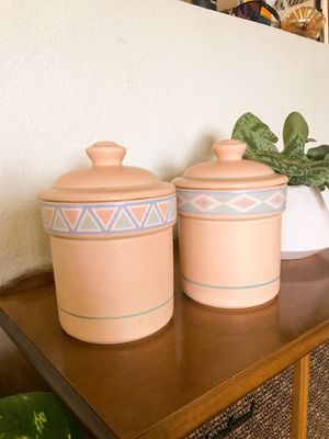 Vintage treasure craft canisters for Sale in Tempe, AZ