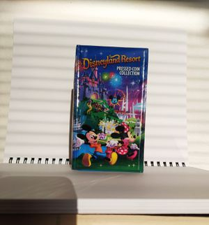 DISNEYLAND pressed coin collector book for Sale in Homeland, CA