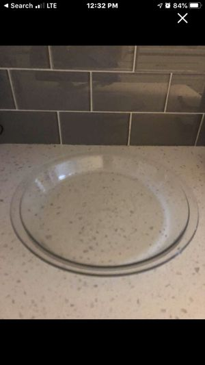 Pyrex pie dish for Sale in Dickinson, TX