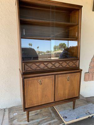 Mid Century Walnut Hutch for Sale in Tempe, AZ