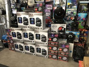 Moving heads/ cabezas mobiles DJ lights for Sale in Riverside, CA