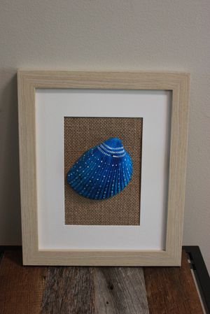 Handmade framed shell art for Sale in Billerica, MA