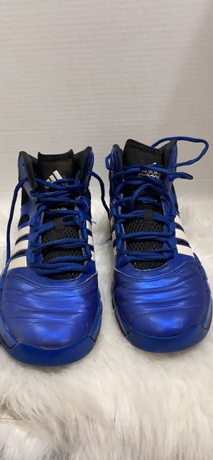 New Men's Adidas Adipure Crazy Ghost Athletic Shoes G99074 Size 8 Blu\Blk\Wht 1J for Sale in Dearborn, MI