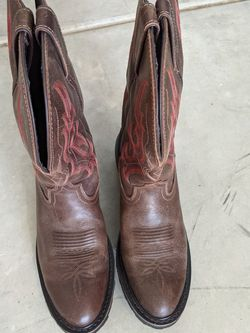 Justin Work Boots Size 10 Soft Toe for Sale in Vancouver,  WA