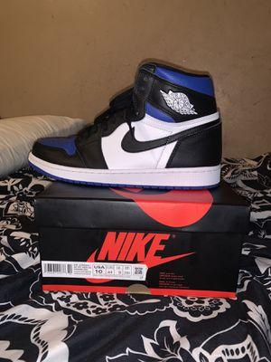 Jordan 1 Royal Toe Size 10 for Sale in Compton, CA