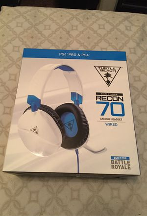 Turtle beach recon 70 headset for Sale in Victorville, CA