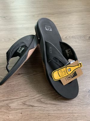 Reef Sandals with Bottle opener | Fanning Prints Tan Topo | Size 13 for Sale in Dallas, TX