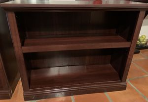 2 Used Dark Wood Bookshelves in very good condition. for Sale in Boca Raton, FL