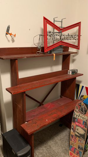 Farmhouse shelving unit for Sale in San Diego, CA