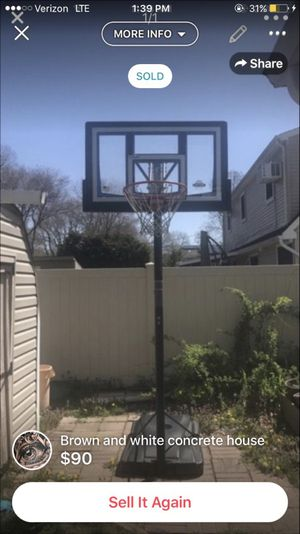 Basketball hoop for Sale in Holtsville, NY