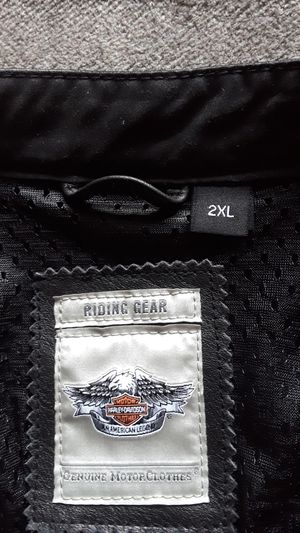 Leather riding jacket for Sale in Brunswick, OH