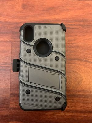 Apple iPhone X case w/ built in kickstand. for Sale in Indianapolis, IN