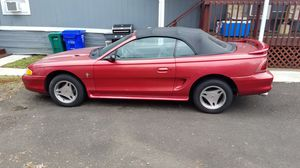 1998 FORD MUSTANG CONVERTIBLE for Sale in Fairview, OR
