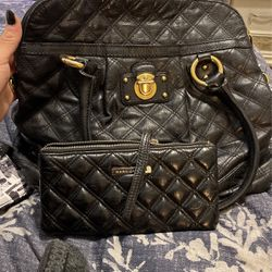 Marc Jacobs Quilted Leather Handbag And Clutch for Sale in Riverside,  CA