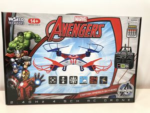 Avengers Captain America Skyhero Quadcopter Drone for Sale in Ontario, CA