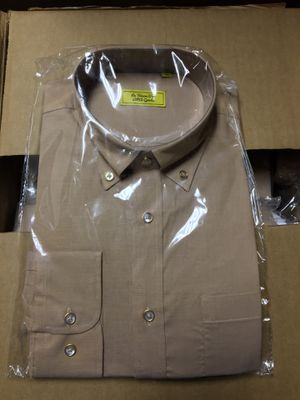 La Toison D'or Brown Long Sleeve Dress Shirt for Sale in San Leandro, CA