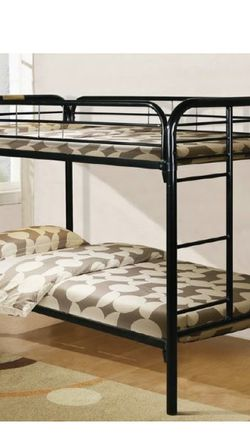 Twin Bunk Bed With New Mattress for Sale in Maple Heights,  OH
