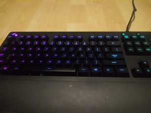 Logitech keyboard rgb changes to 6 different colars Logitech mouse included and mouse pad for Sale in El Cajon, CA