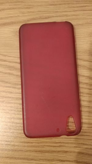 HTC cell phone rubber red case for Sale in Seattle, WA