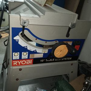 Ryobi Table Saw With Brand New Diabol Blade What you See Is What Is For Sale. Nothing Else for Sale in Gilbert, AZ
