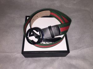 Gucci Web Belt 95CM(32-34 Waist) for Sale in Hyattsville, MD