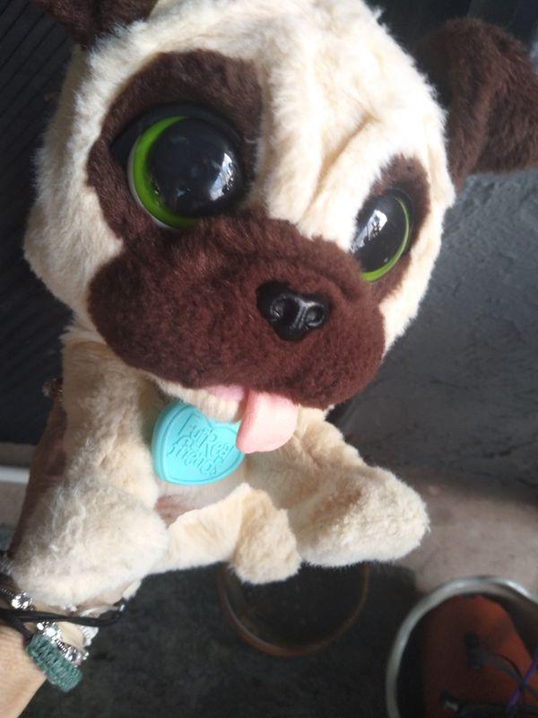 Furreal Friends Plush Animated Pug Toy