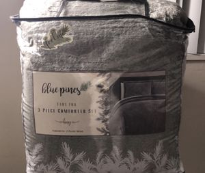 3 PIECES COMFORTER SET KING SIZE for Sale in Washington, DC