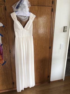 Lulu's white chiffon dress for Sale in San Diego, CA