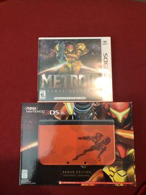 Nintendo New 3DS XL - Samus Edition [Discontinued]+ Metroid: Samus Returns - Nintendo 3DS Game for Sale in Saint AUG BEACH, FL