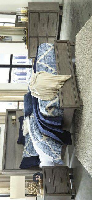 🍃good price🍃Arnett Gray Bookcase Bedroom Set for Sale in Jessup, MD