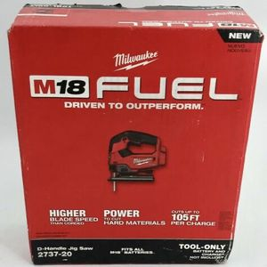 NEW! Milwaukee M18 FUEL Jigsaw 18v 18-volt 2737-20 2737 20 21 22 jig saw for Sale in Vancouver, WA