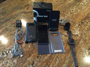 Unlocked Samsung Note 8 & Gear 3 cellular + accessories for Sale in Orlando, FL