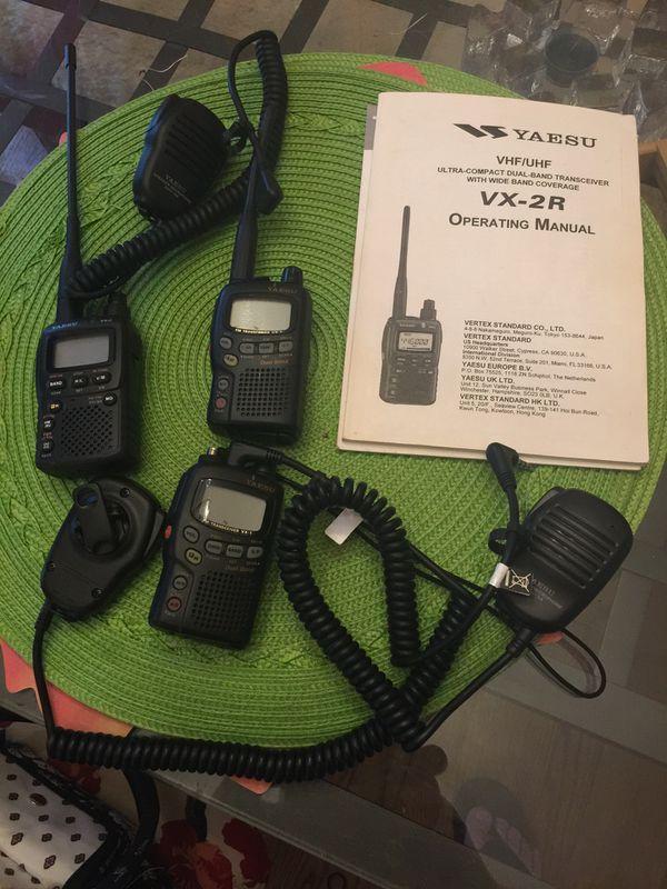 Yarsu VHF /UHF Radios
