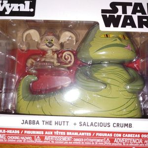 Disney Star Wars Jabba & Salacious Funko Vynl for Sale in Philadelphia, PA