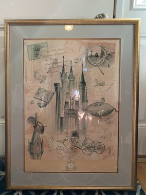 Disney Cinderella 50th Anniversary Poster for Sale in Oyster Bay, NY