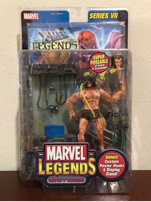 Weapon X / Wolverine Series VII Marvel Legends Collectible Action Figure for Sale in Thonotosassa, FL