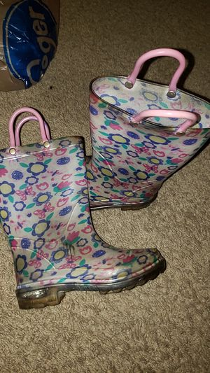 Light Up Rain Boots size 8 for Sale in La Vergne, TN