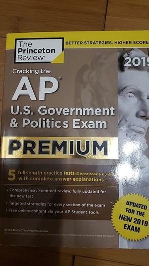 Cracking the AP U.S. Government & Politics Exam Premium for Sale in Ontario, CA