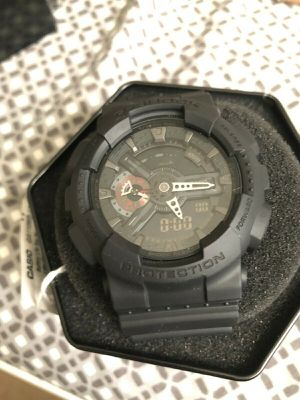 Casio G-Shock Resist W.R. 20 Bar (GA110MB-1ACR) Matte Black for Sale in Los Angeles, CA