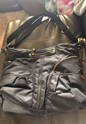 Black and Gold Skip Hop Diaper Bag for Sale in Glendale, AZ