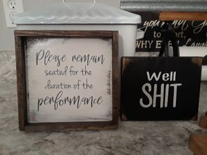 2 signs for Sale in Columbia, MO