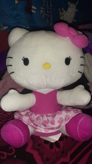 Hello kitty pink dress 9 inch for Sale in Houston, TX