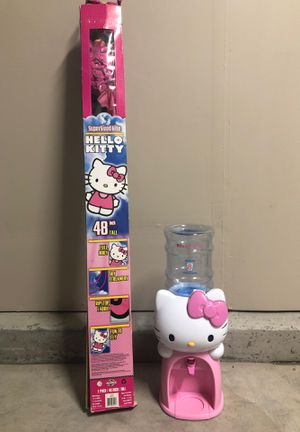 Hello Kitty Water Dispenser and Kite for Sale in Fresno, CA