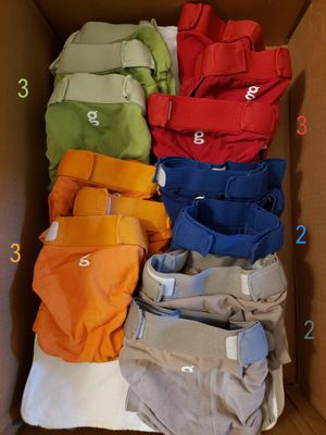 "Large Size ""G"" Brand Name Cloth Diapers (Will Consider Offers) for Sale in Bloomington, IL"