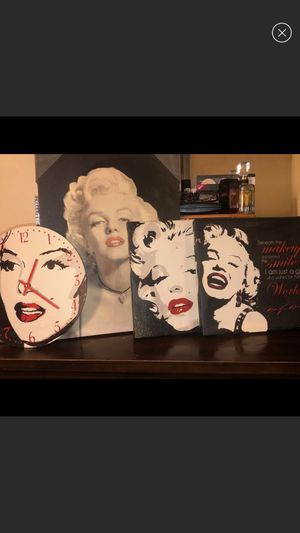 Marilyn Monroe picture set for Sale in Memphis, TN