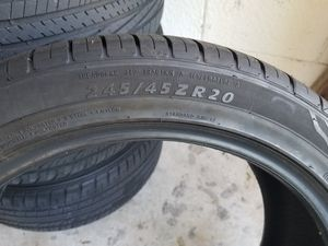 4 new ironmsn tires 245/45/20 /103w for Sale in Kissimmee, FL