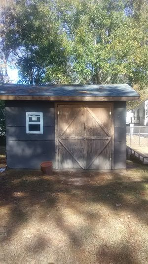 10x8 shed must sell moving soon asking for $ 800 dollars for Sale in North Charleston, SC