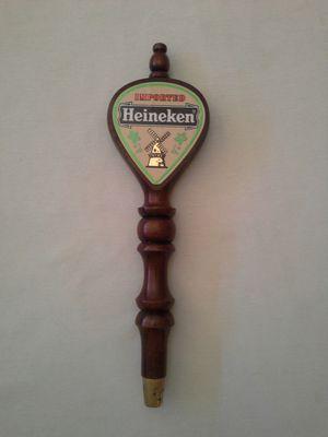 Wood Heineken Beer Keg Tap Handle Good Condition for Sale in Reedley, CA